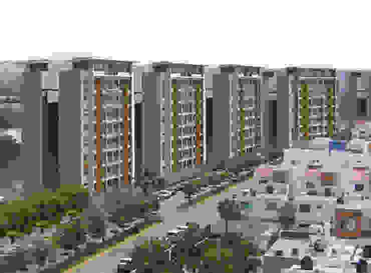 Torres del Rio - MAC Arquitectos Consultores Casas modernas de MAC Arquitectos Consultores Moderno