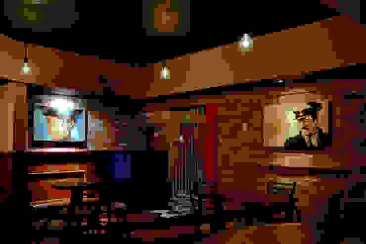 Habitá Estudio Creavtivo Rustic style bars & clubs