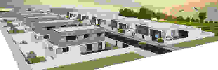 Casa Guilhovai Casas modernas por OPUS - MATER Moderno