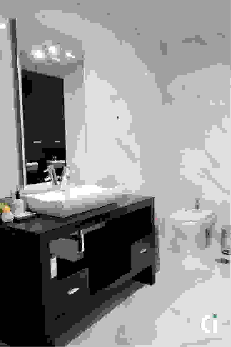 Remodelação de WC, 2016 - Braga Casas de banho modernas por Ci interior decor Moderno