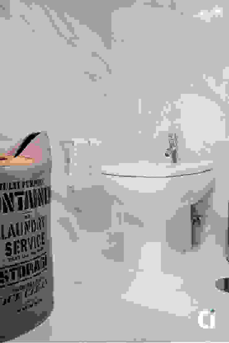 Remodelação de WC, 2016 – Braga Casas de banho modernas por Ci interior decor Moderno
