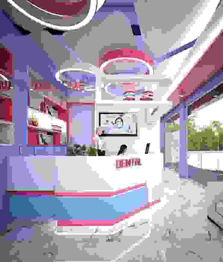 Dental clinic โดย buildinhatyai โมเดิร์น ไม้ Wood effect