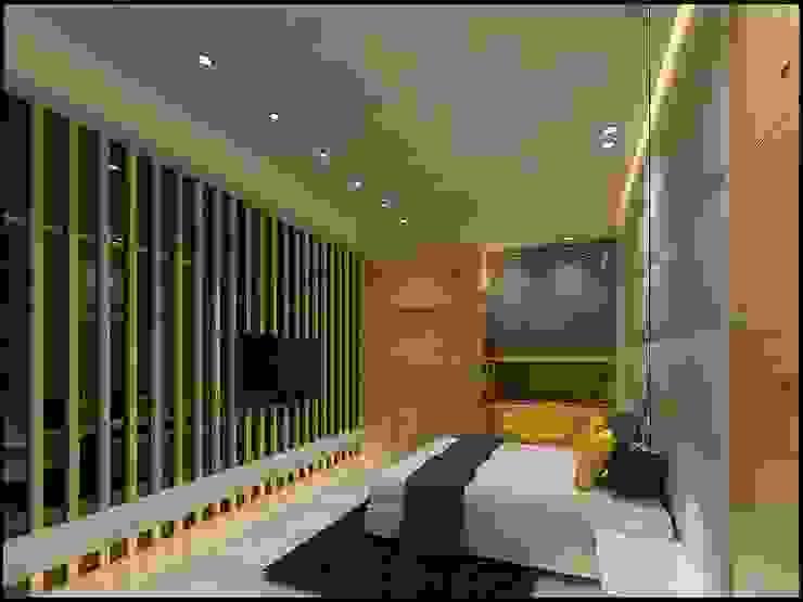 Kamar Tidur Gaya Rustic Oleh homify Rustic Kayu Wood effect