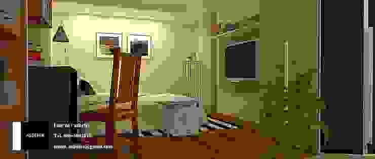 ห้องนอน โดย Asbefer