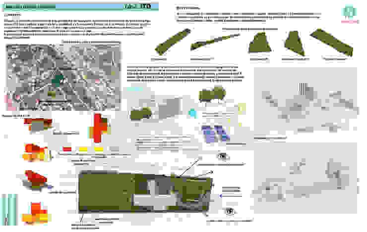 Contexto - Investigación - Estudio Volumétrico Casas modernas: Ideas, imágenes y decoración de CASTELLINO ARQUITECTOS (+) Moderno