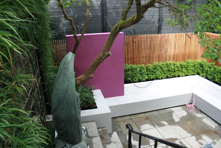 Bold Contemporary Chelsea Garden 根據 GreenlinesDesign Ltd 現代風