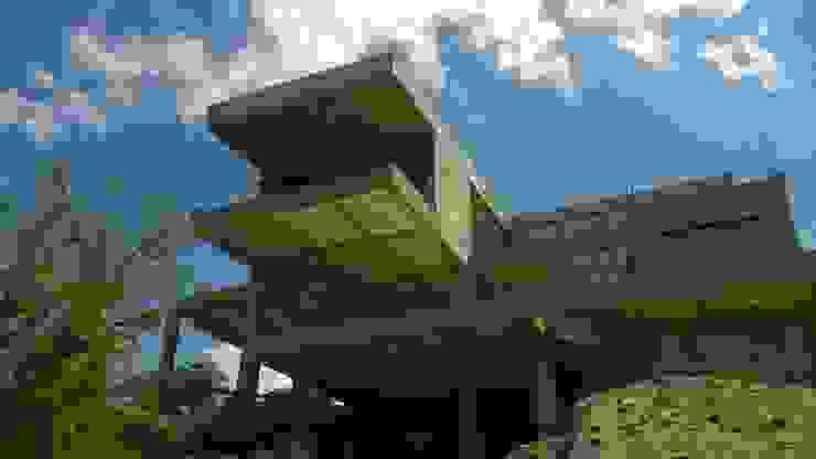 Casa J.T.D. Casas modernas: Ideas, imágenes y decoración de CASTELLINO ARQUITECTOS (+) Moderno Hormigón
