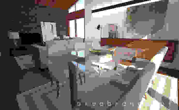 Sala Estar e Jantar Salas de jantar modernas por Areabranca Moderno