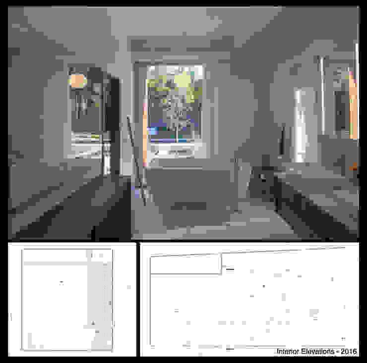 studioWTA Phòng tắm phong cách hiện đại
