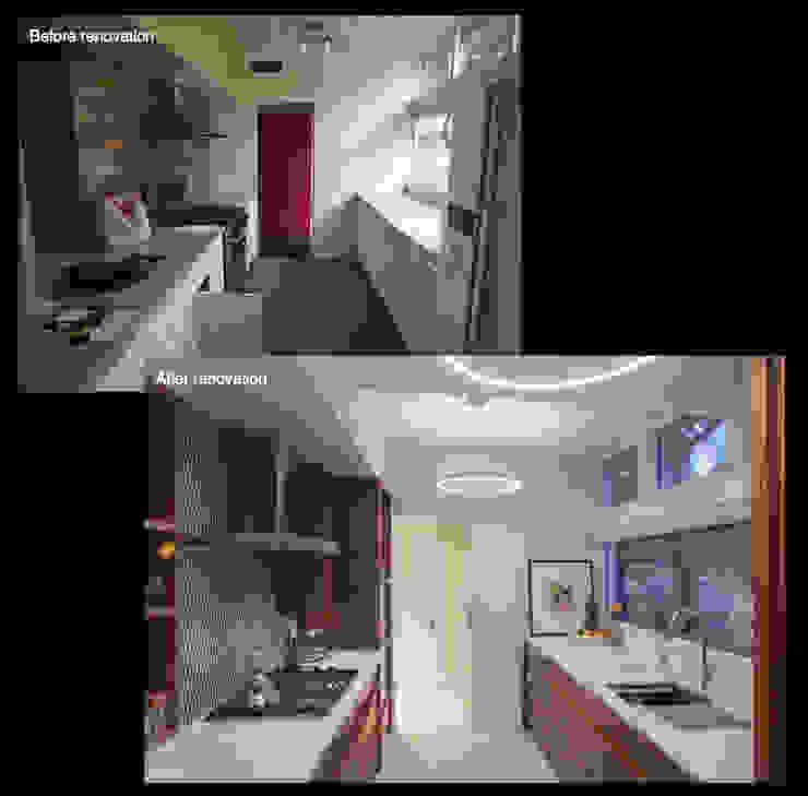 Emerald Street Residence, New Orleans Modern kitchen by studioWTA Modern