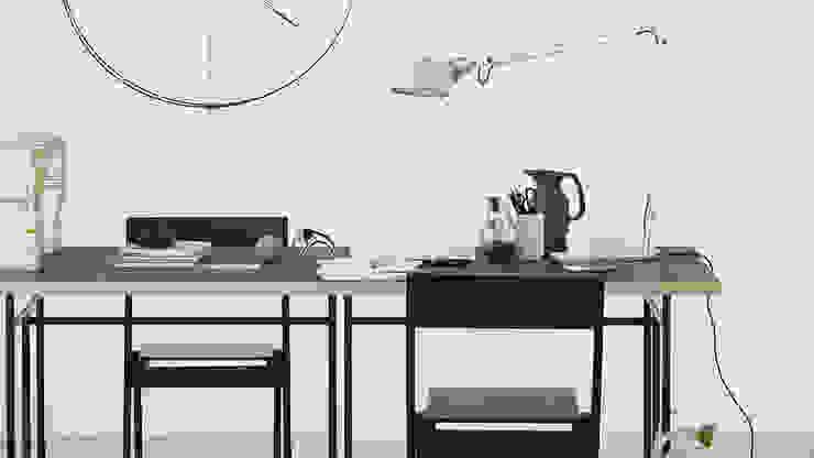 Modern style study/office by SCHÖNER WOHNEN-FARBE Modern