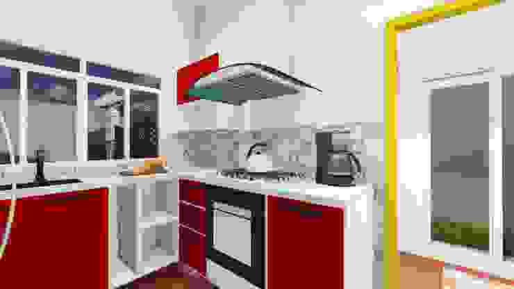 Estúdio 12b Modern Kitchen