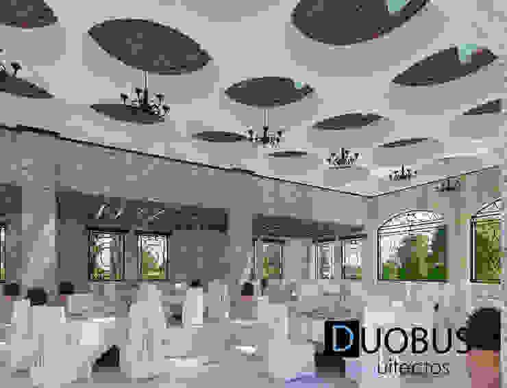 Interior Salón 1 Balcones y terrazas coloniales de DUOBUS M + L arquitectos Colonial