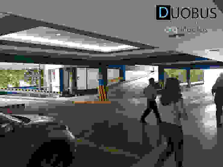 estacionamiento 1 Garajes modernos de DUOBUS M + L arquitectos Moderno