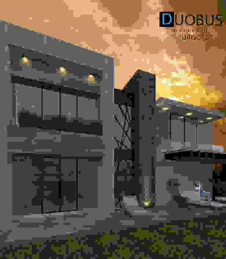 POSTERIOR Casas modernas de DUOBUS M + L arquitectos Moderno