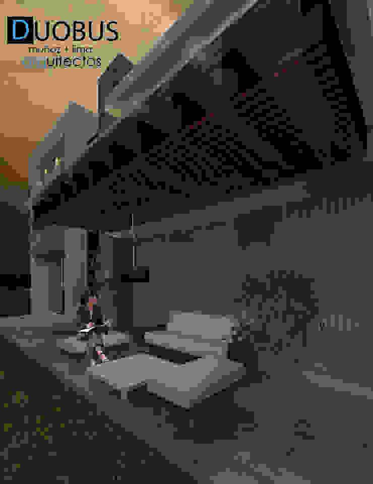 TERRAZA Balcones y terrazas modernos de DUOBUS M + L arquitectos Moderno