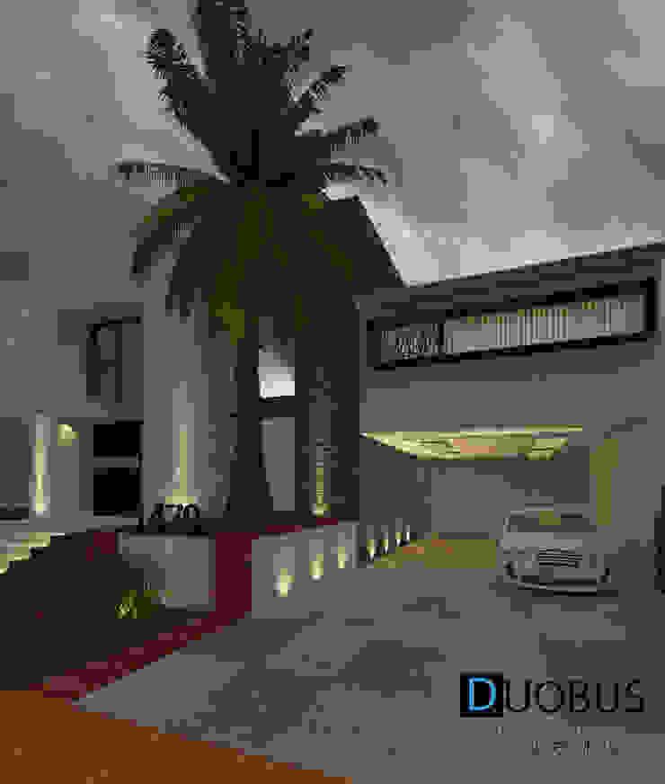 FACHADA Casas modernas de DUOBUS M + L arquitectos Moderno