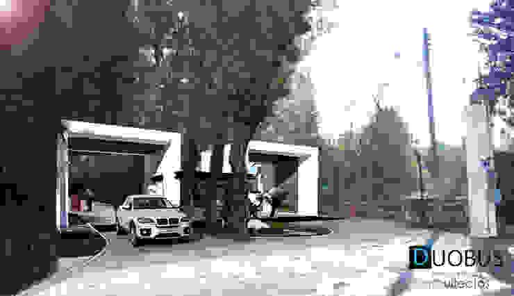 ACCESO Casas modernas de DUOBUS M + L arquitectos Moderno