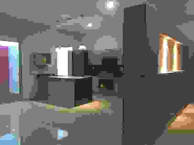 Cocina Cocinas de estilo minimalista de Base-Arquitectura Minimalista