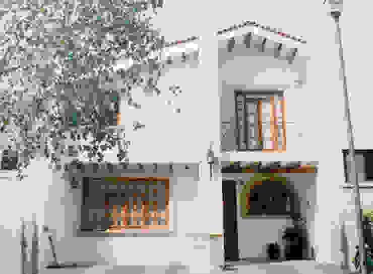 Fachada Casas mediterráneas de Base-Arquitectura Mediterráneo