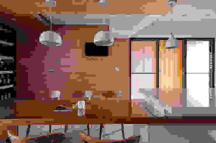 小坪數多元木活躍休閒風 根據 瓦悅設計有限公司 現代風