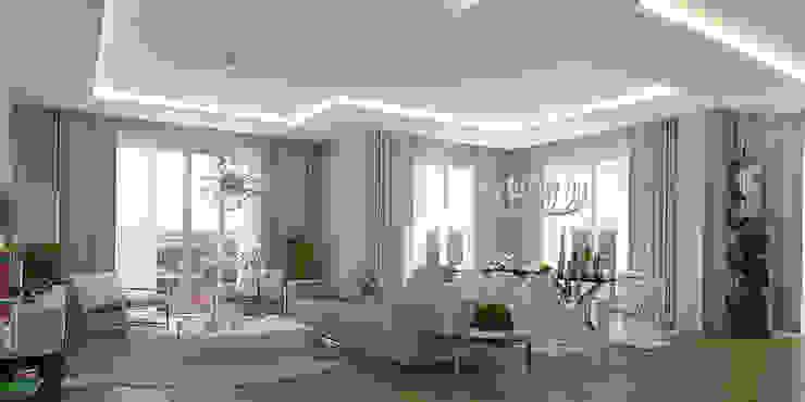 Moderne Wohnzimmer von Pronil Modern Holzwerkstoff Transparent