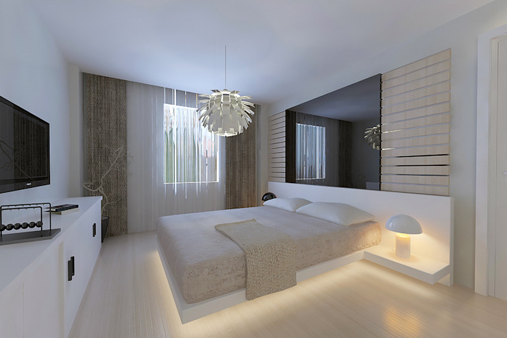 Bedroom by Pronil, Modern Engineered Wood Transparent