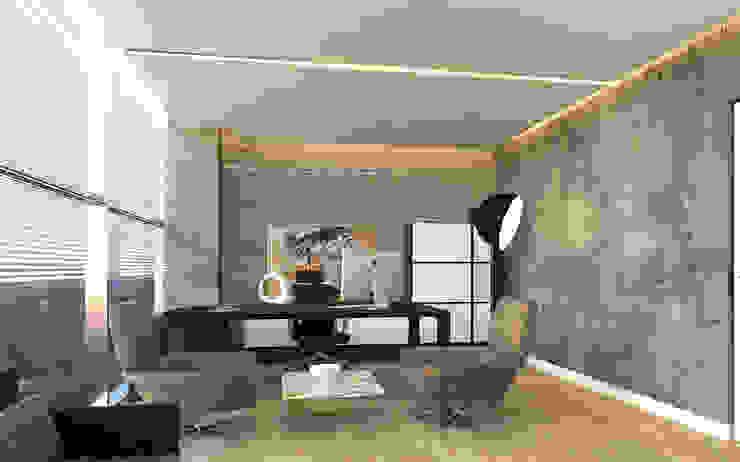 Yönetici Odası Modern Çalışma Odası Pronil Modern