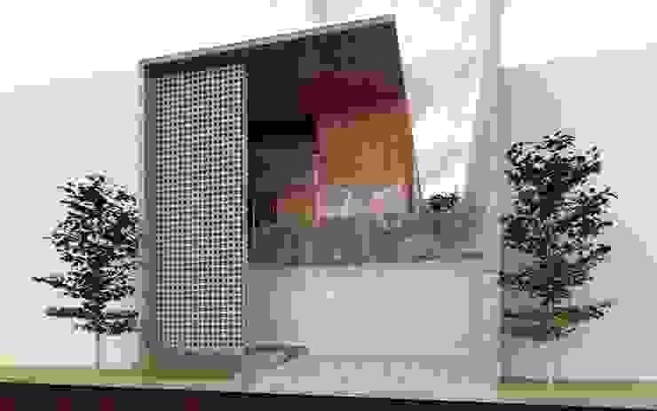 Casa Orta. Casas minimalistas de Lozano Arquitectos Minimalista Concreto