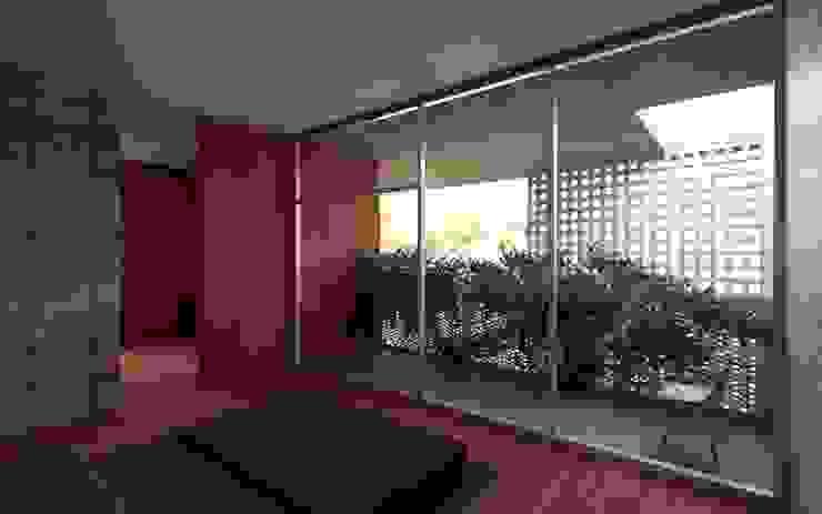 Casa Orta Dormitorios minimalistas de Lozano Arquitectos Minimalista Concreto