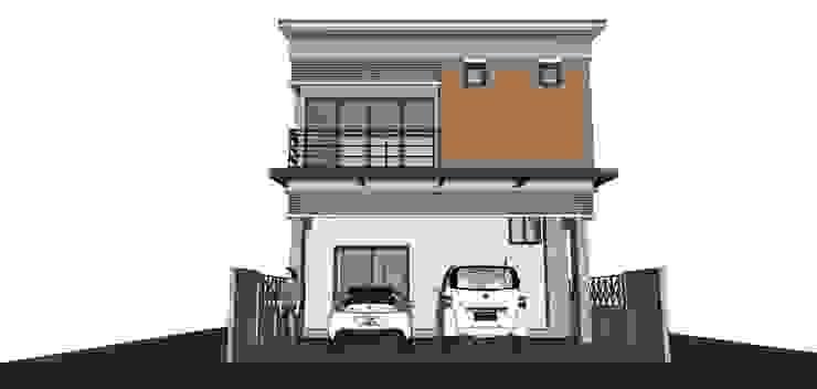 โครงการบ้าน 2 ชั้น อ.จักราช จ.นครราชสีมา <q>แค่ลูกค้ายิ้มเราก็ดีใจแล้ว</q> โดย บ้านสถาปนิก