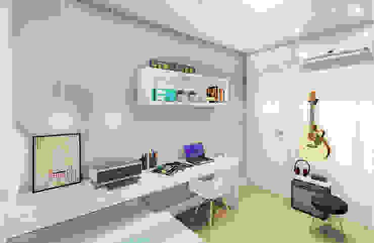 Quarto de Hóspedes Quartos modernos por JS Interiores Moderno