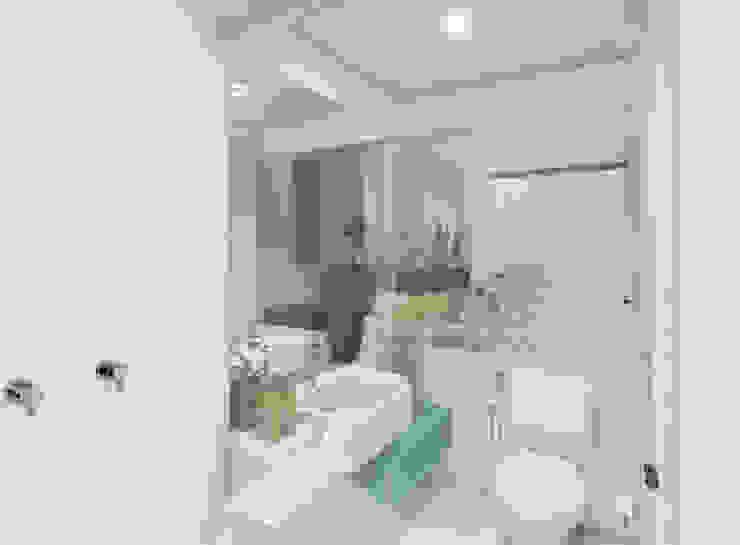 Banheiro Social Casas de banho modernas por JS Interiores Moderno