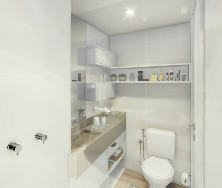 حمام تنفيذ JS Interiores, حداثي