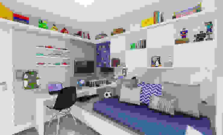 Quarto Infantil Quartos de criança modernos por JS Interiores Moderno