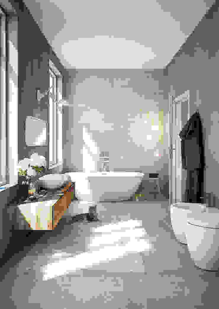 Industrial style bathroom by DMC Real Render Industrial