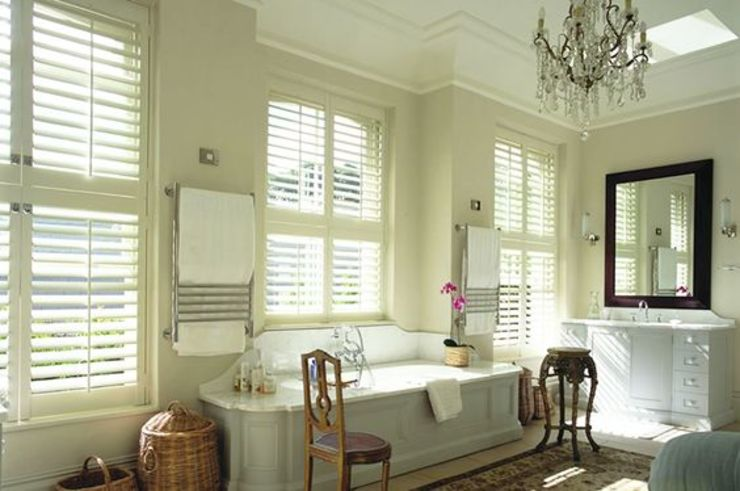 Mixed Photos Classic style bathroom by Plantation Shutters Ltd Classic