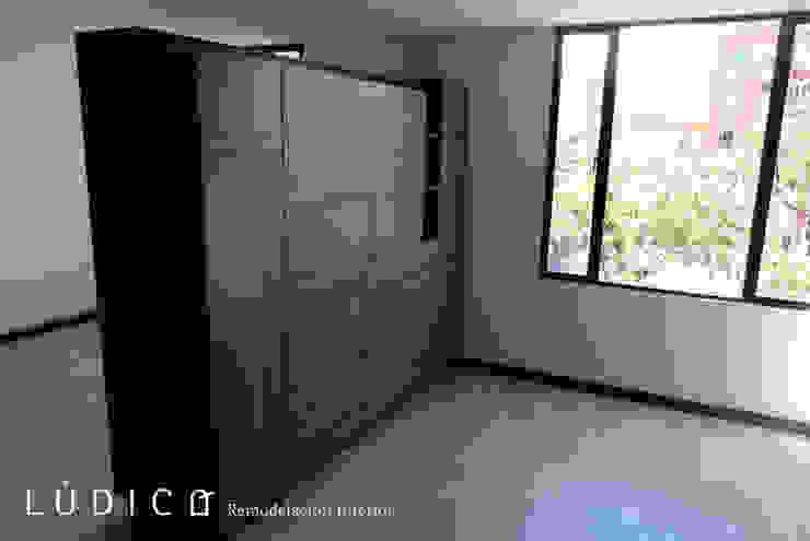 Remodelación Apartamento Chapinero Salas de estilo minimalista de Lúdico Arquitectos Minimalista