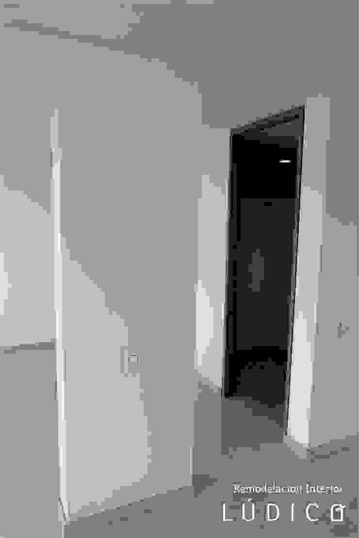 Apartamento Ciudad Salitre – Bogotá Salas de estilo minimalista de Lúdico Arquitectos Minimalista