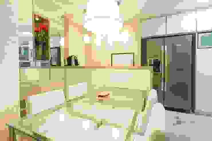 Sala de Jantar e Churrasqueira Camila Chalon Arquitetura Salas de jantar modernas