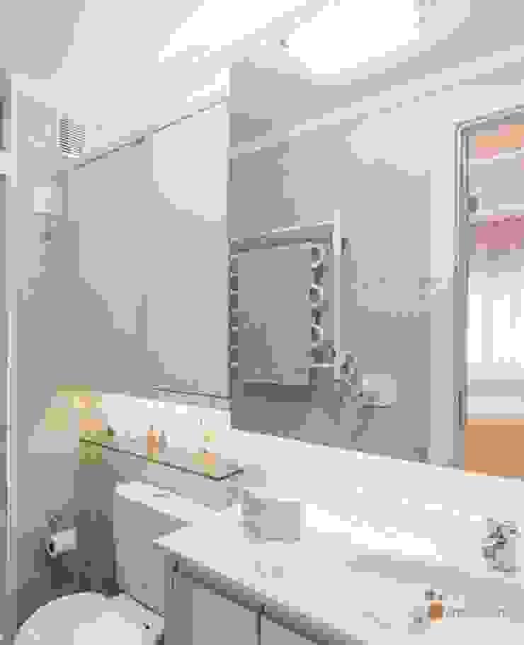 Banheiro Suíte Camila Chalon Arquitetura Banheiros modernos