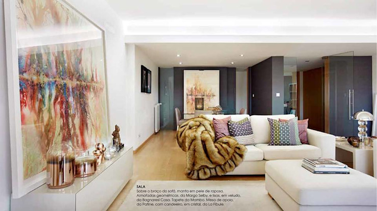 Salas de estilo moderno de Patine Moderno Madera Acabado en madera