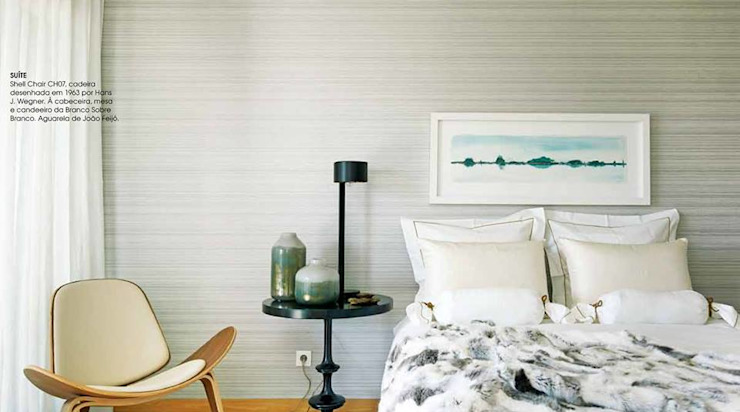 Modern style bedroom by Patine Modern Wood Wood effect