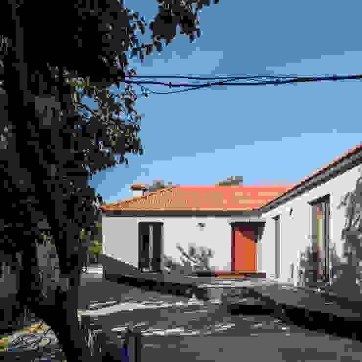 CASA BALSELHAS:  tropical por Guillaume Jean Architect & Designer,Tropical