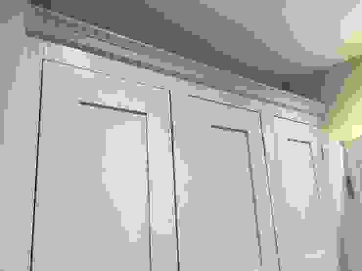 Colour coded shaker style storage units Designer Vision and Sound: Bespoke Cabinet Making HouseholdStorage