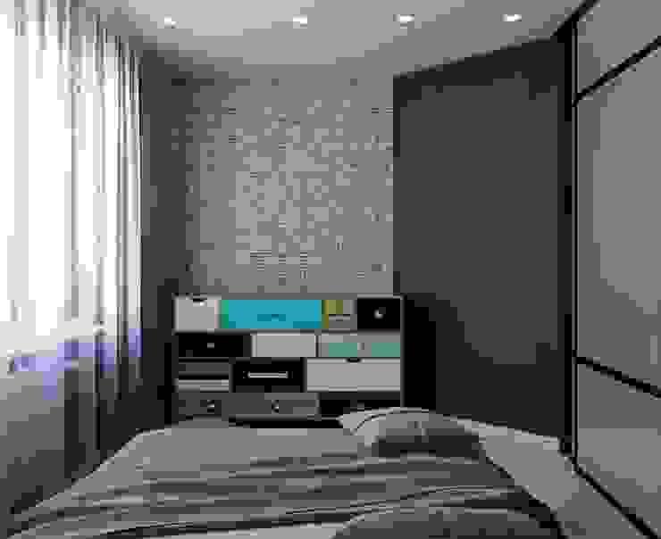 ДизайнМастер Industrial style bedroom Brown