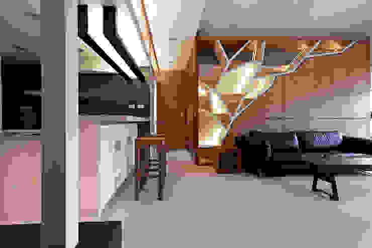 小坪數大空間簡約寧靜宅 根據 瓦悅設計有限公司 簡約風