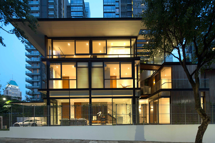Houses by AR43 Architects Pte Ltd,