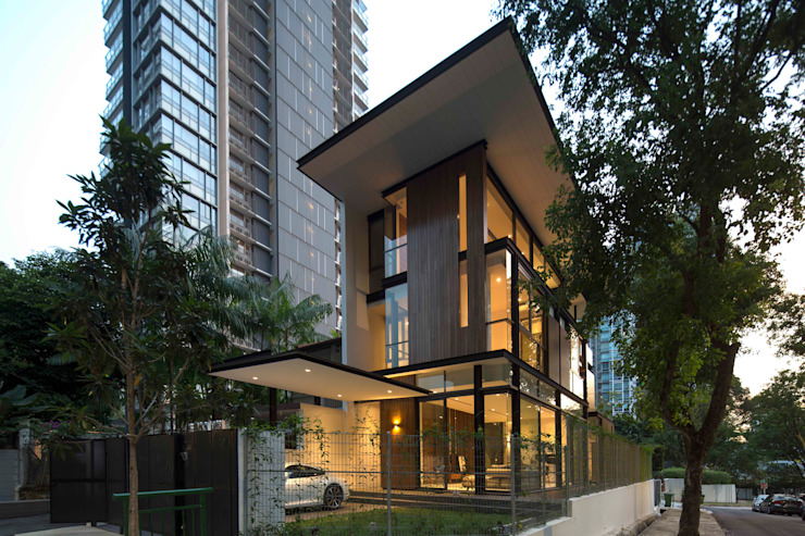 Paterson 3 Modern houses by AR43 Architects Pte Ltd Modern