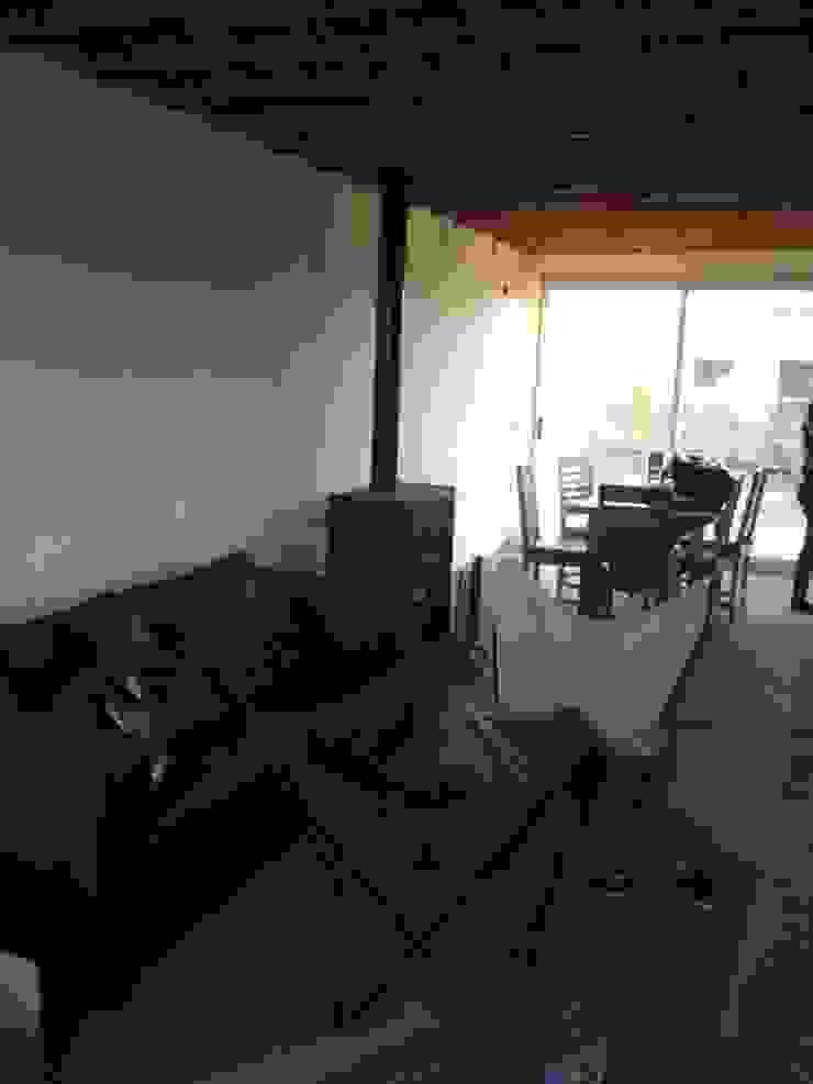 Vivienda Pro.Cre.Ar. Comedores modernos de CAB Arquitectura ccab.arquitectura@gmail.com Moderno Ladrillos